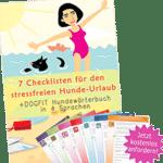 7 checklisten - Hunde-Urlaub