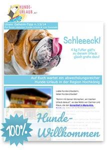 Kostenloser Geheim-Tipp für meinen Hunde-Urlaub