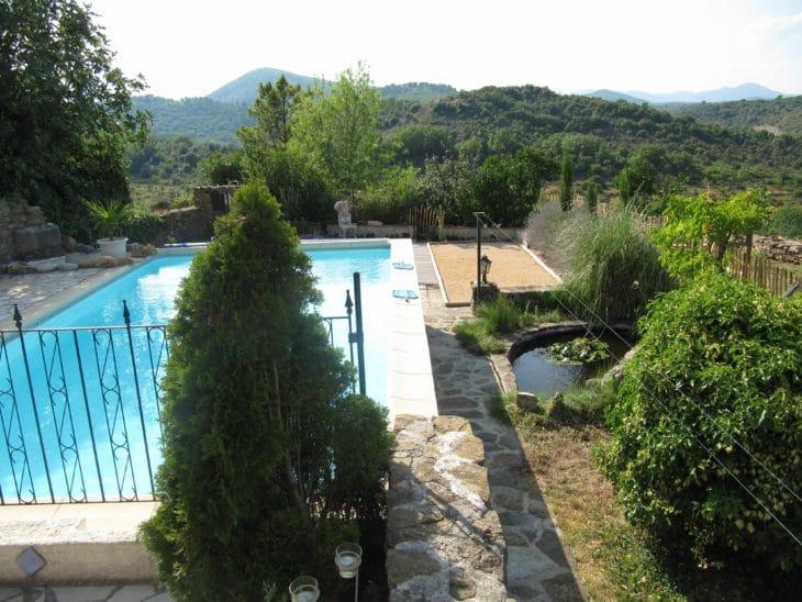 Ferienhaus Nagel mit Pool in idyllischer Lage