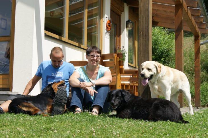 Das Hundecamp im Feriendörfl Apfelland