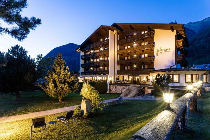 Hotel Johanna mitten im Tiroler Ötztal