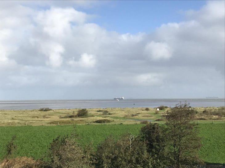 Ferienwohnung Möwe mit Blick aufs Wattenmeer