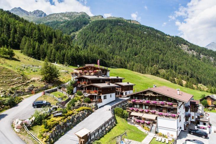 Appartements mit Sauna Grünwald Resort Sölden