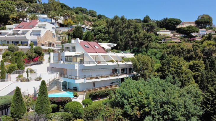 Apartment-Villa mit Meerblick in Cannes