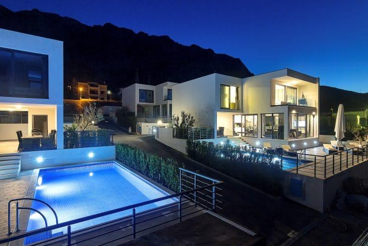Villa Selina I mit Pool und Meerblick