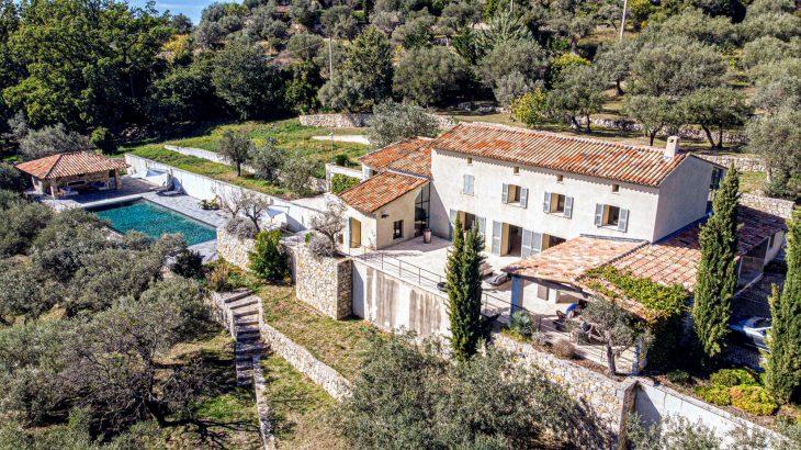 Exklusive Traumvilla auf 3ha Land-Côte d´Azur