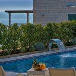 Villa Goran mit Swimmingpool und Meerblick