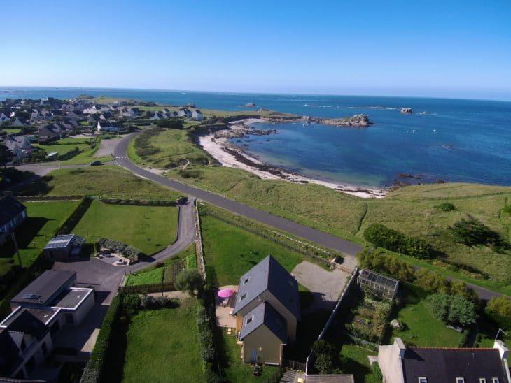 Ferienhaus Portsall 50 Meter vom Strand