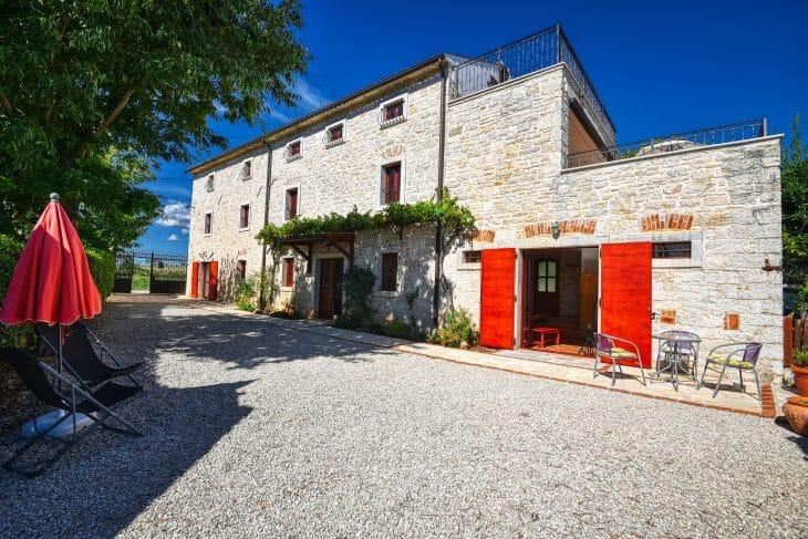 Villa Bella Istria mit Pool bis 12 Personen